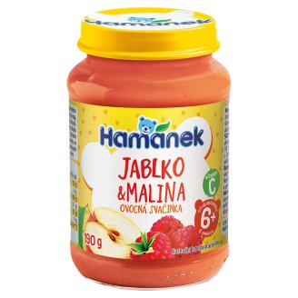 Hamánek S malinami 190 g