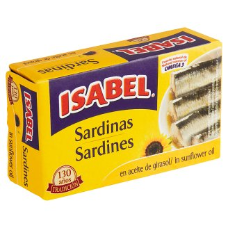 Isabel Sardines in Vegetable Oil 125 g