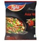 Iglo Asia Wok zmes zeleniny a jedlých húb hlbokozmrazená 400 g