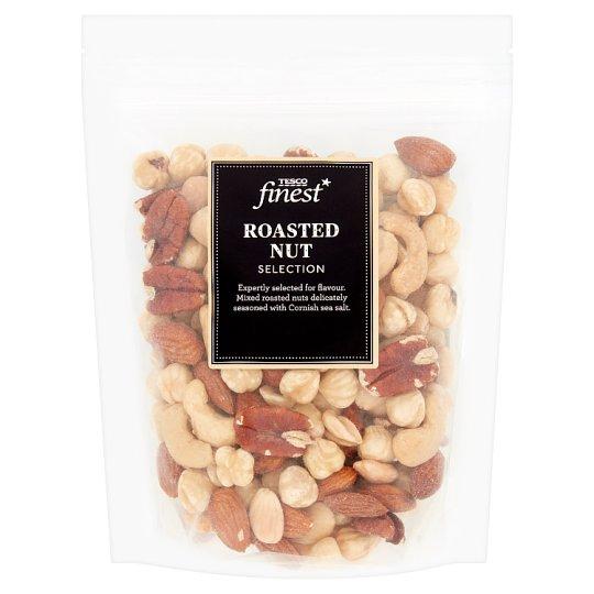 Tesco Finest Zmes pražených orechov 225 g