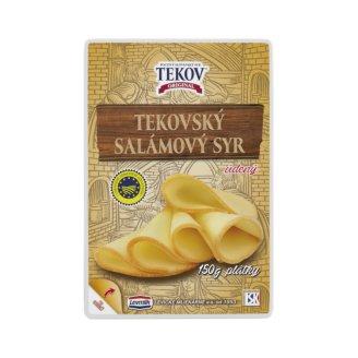 TEKOV SALAMI CHEESE Smoked Slices 150 g