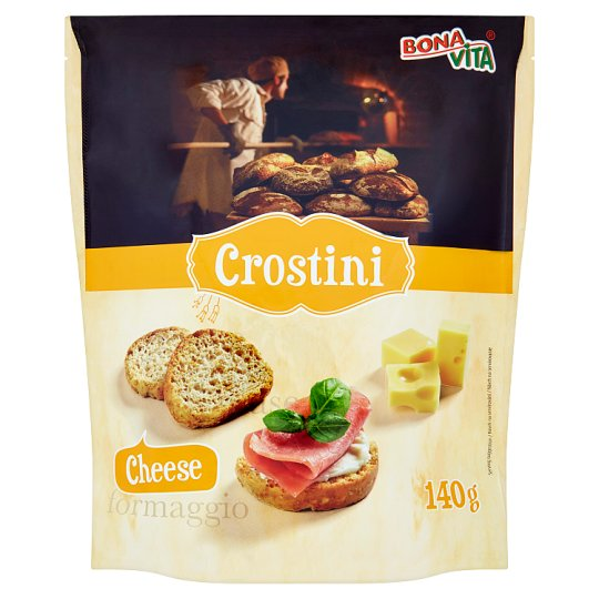 Bona Vita Crostini Cheese 140 g