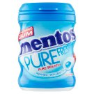 Mentos Pure Fresh Chewing Gums with Liquid Filling with Fresh Mint - Green Tea Flavour 40 pcs 60 g