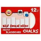 KOH-I-NOOR White Blackboard Chalks 12 pcs