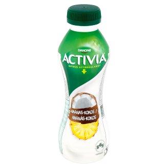 Danone Activia Ananás kokos jogurtový nápoj 310 g