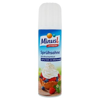 MinusL Whipped Cream without Lactose 250 g