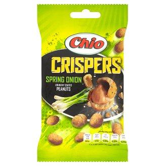 Chio Crispers arašidy lúpané, pražené, obalené v cestíčku s príchuťou cibuľky 65 g