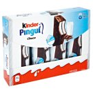 Kinder Pingui Choco Sponge Cakes with Milk Filling 8 x 30 g