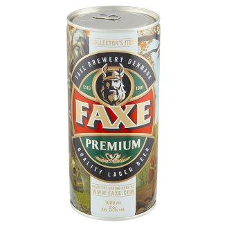 Faxe Premium pivo 1000 ml
