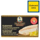 Kaiser Franz Josef Exclusive Sardines Fillets in Sunflower Oil with Lemon 90 g