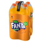Fanta, pomarančová limonáda, 4 x 1,75 l