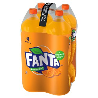 Fanta, Orange Lemonade, 4 x 1.75 L