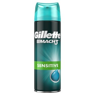 Gillette Mach3 Sensitive Gél Na Holenie 200 ml
