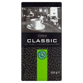Tesco Classic pražená mletá káva 100% Arabica 250 g