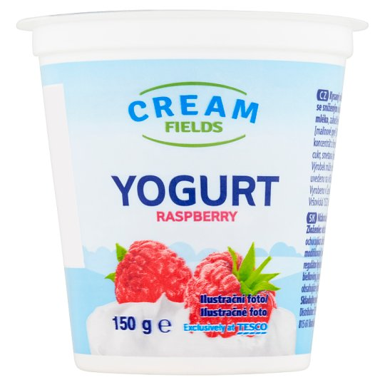Cream Fields Yogurt Raspberry 150 g