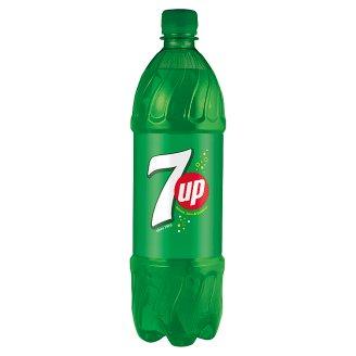 7UP Soft Drink with Lemon, Lime & Bubbles Flavour 1 L