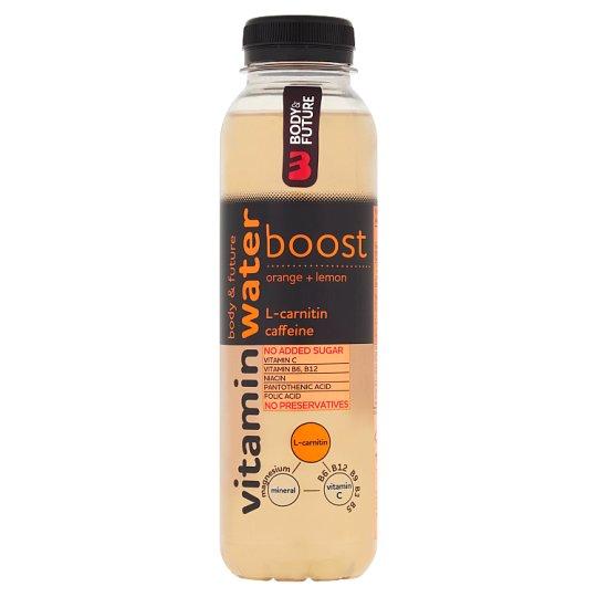 Body&Future Vitamin Water Boost vitamínová voda pomaranč-citrón 400 ml
