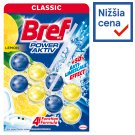 Bref Power Aktiv Lemon tuhý WC blok 2 x 50 g