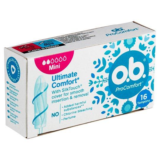 O.B.® ProComfort Tampons Mini 16 pcs