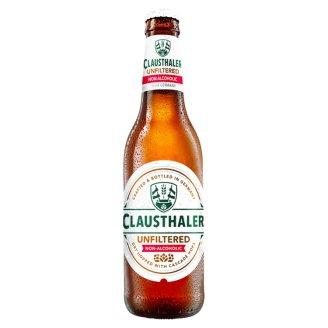 Clausthaler Nealkoholické pivo nefiltrované 0,33 l
