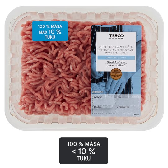 Tesco Pork Mince Meat from Ham 10% Fat 500 g