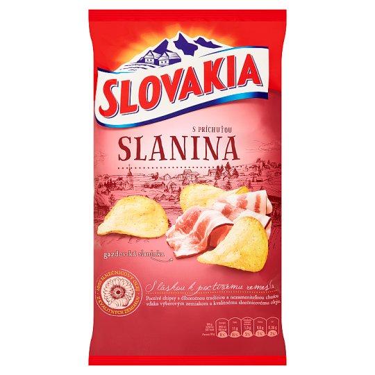 Slovakia Chips S príchuťou slanina 150 g