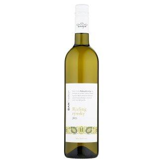 Sanvin San Tradition Rizling rýnsky akostné odrodové víno biele suché 0,75 l
