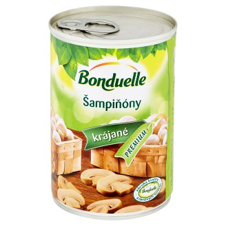 Bonduelle Sliced Mushrooms in Mild Brine 400 g