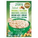 Tesco Instant Oatmeal with Hazelnut 4 x 65 g