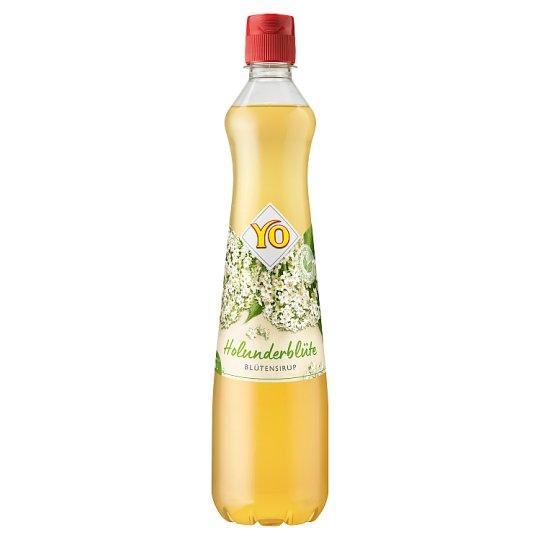 YO Syrup from Elder Flowers 0.7 L