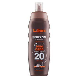 Lilien Sun Active Emulsion SPF 20 200 ml