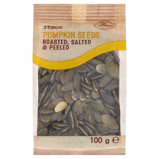 Tesco Pumpkin Seeds Roasted, Salted, Peeled 100 g