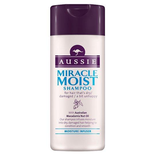 Aussie Miracle Moist Šampón Na Suché, Vysušené Vlasy 75 ml
