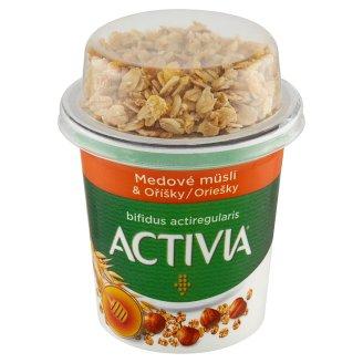 Danone Activia Biela - biely jogurt a medové müsli s lieskovými orieškami 170 g