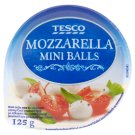 Tesco Mozzarella Mini Balls 125 g