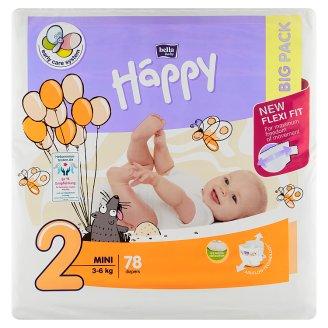 "Happy Detské plienky ""2"" á 78 ks"