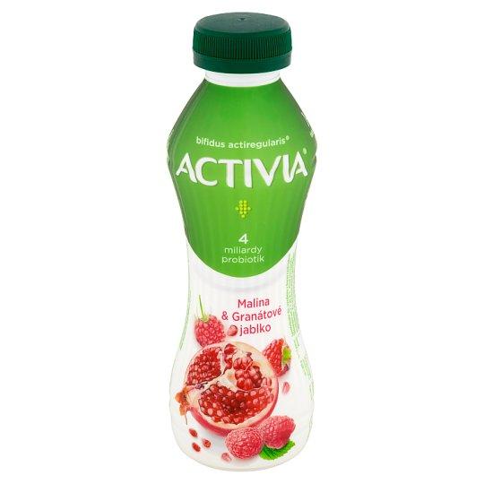 Danone Activia Malina - granátové jablko jogurtový nápoj 310 g