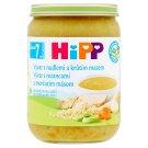HiPP Bio vývar s rezancami a morčacím mäsom 190 g