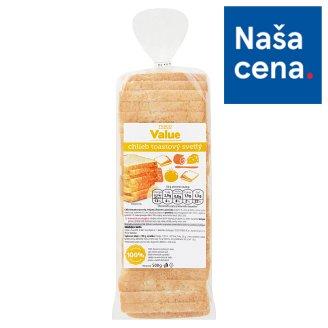 Tesco Value Chlieb toastový svetlý 500 g