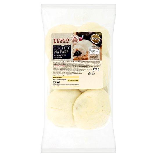 Tesco Steamed Buns with Plum Jam 350 g