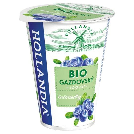 Hollandia Bio jogurt gazdovský čučoriedky s kultúrou BiFi 180 g
