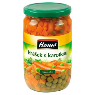 Hamé Peas with Carrot in Mild Salt Brine 640 g