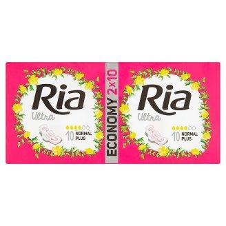 Ria Ultra Silk Normal Plus Pads 2 x 10 pcs
