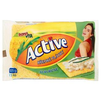 Bona Vita Active Krehké plátky kukuričné 15 ks 105 g