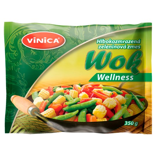 Vinica Wok Wellness Deep Frozen Vegetable Mix 350 g
