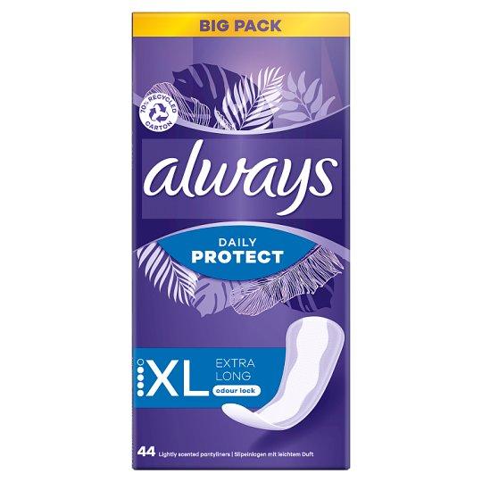 Always Dailies Extra Protect Long Plus Intímky 44 Kusov