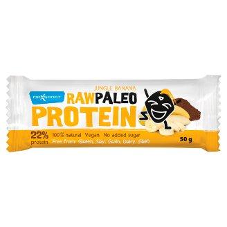 MaxSport Paleo Raw proteínová tyčinka s banánom a kakaom 50 g