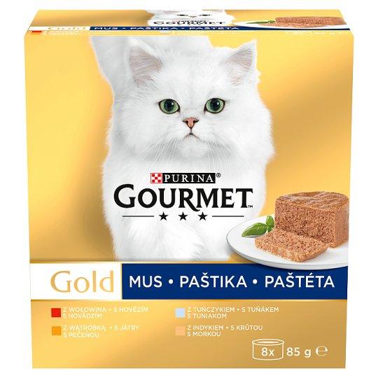 GOURMET Gold Multipack paštét 8 x 85 g