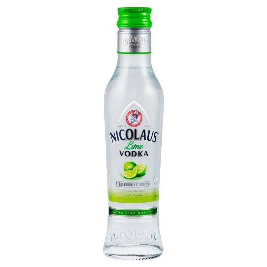 Nicolaus Extra jemná Lime vodka 38% 200 ml