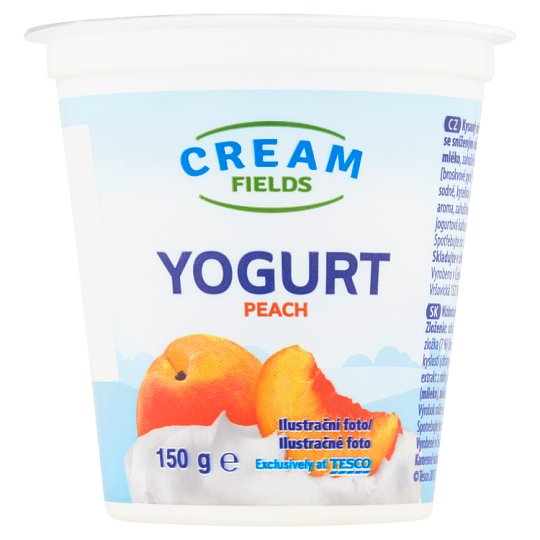 Cream Fields Yogurt Peach 150 g